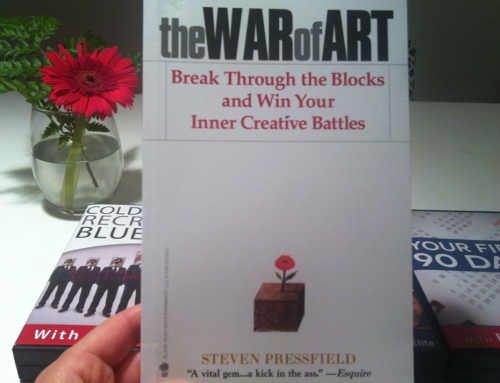 "Book : ""The War of Art"" by Steven Pressfield"
