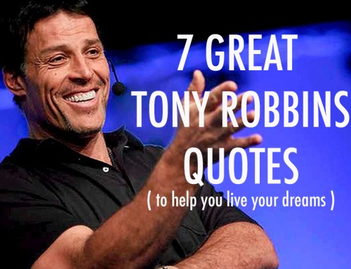 7 Great Quotes From Tony Robbins
