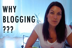 Why Blogging?